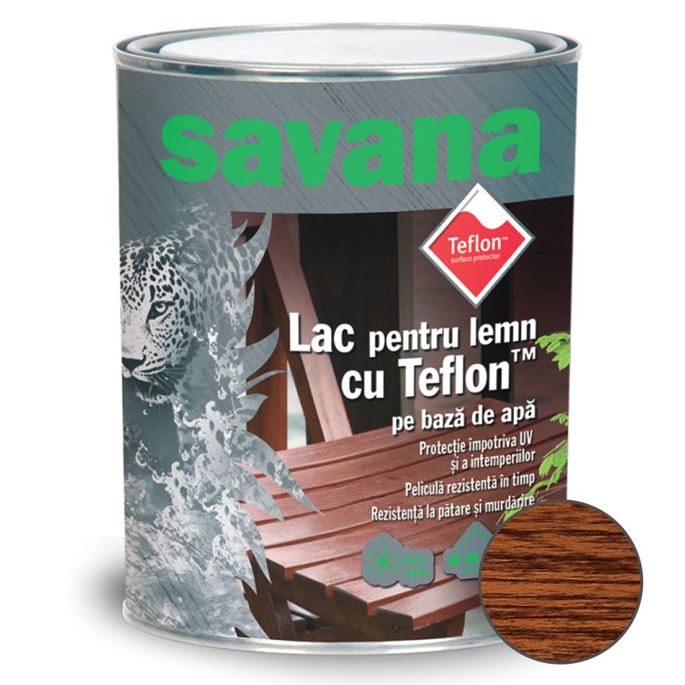 Lac acrilic Savana pentru Lemn teak 0,75 L imagine MatHaus.ro