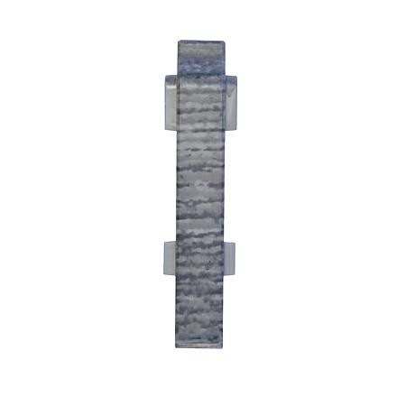 Set conectori plinta PVC stejar rocky