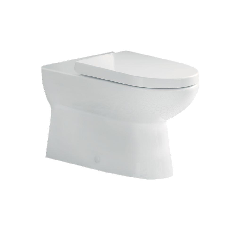 Vas WC + capac Menuet Bella 18800-w, alb, 390 x 545 x 360 mm imagine 2021 mathaus