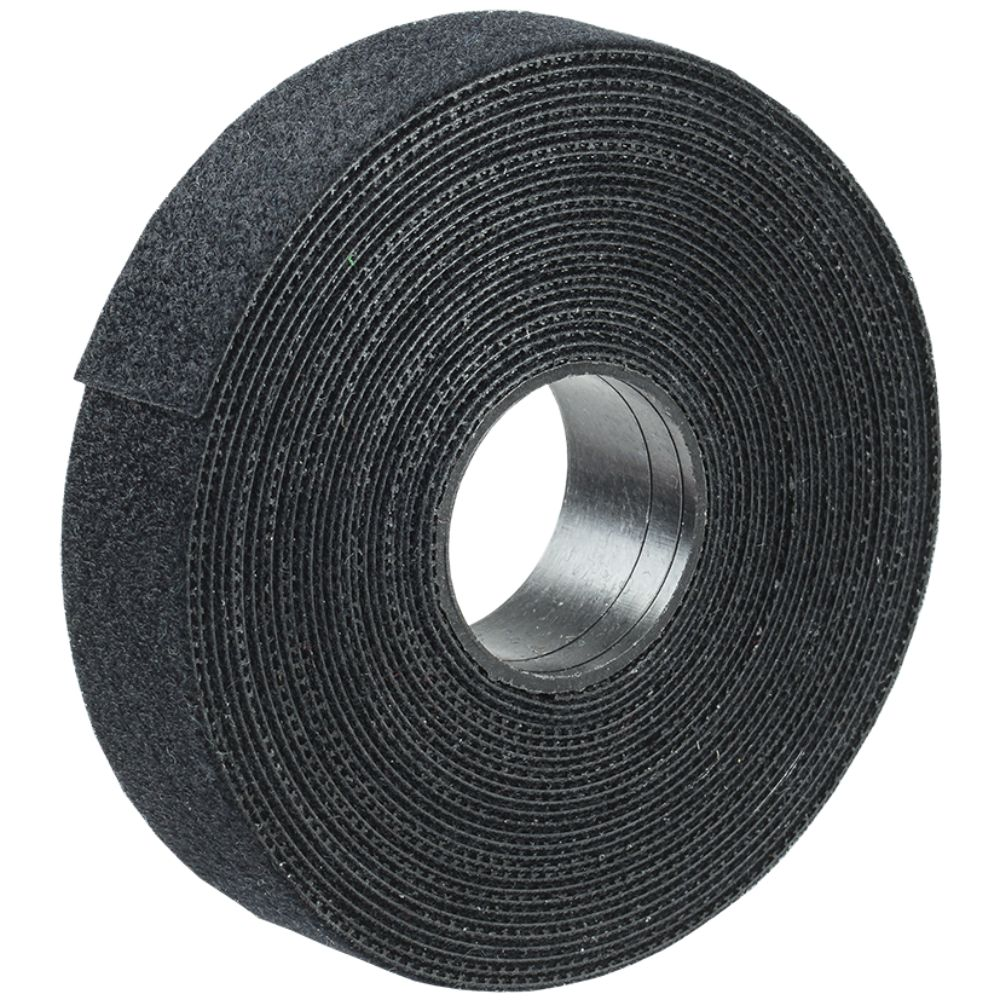 Clema reutilizabila, neagra, rola: 16 mm x 5 m mathaus 2021