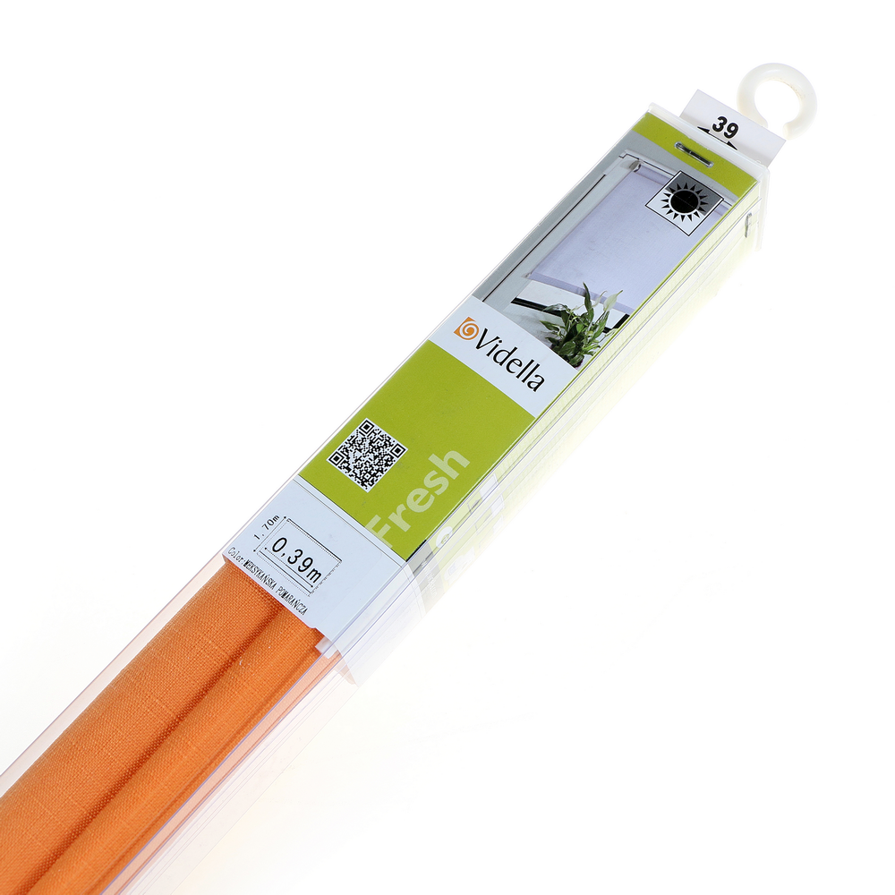 Rolete mini fresh MS-02 portocaliu 39 x 160 cm