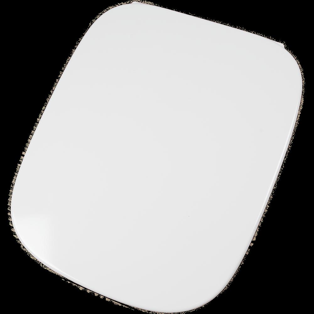 Capac pentru WC Roca Debba, rectangular, duroplast, alb