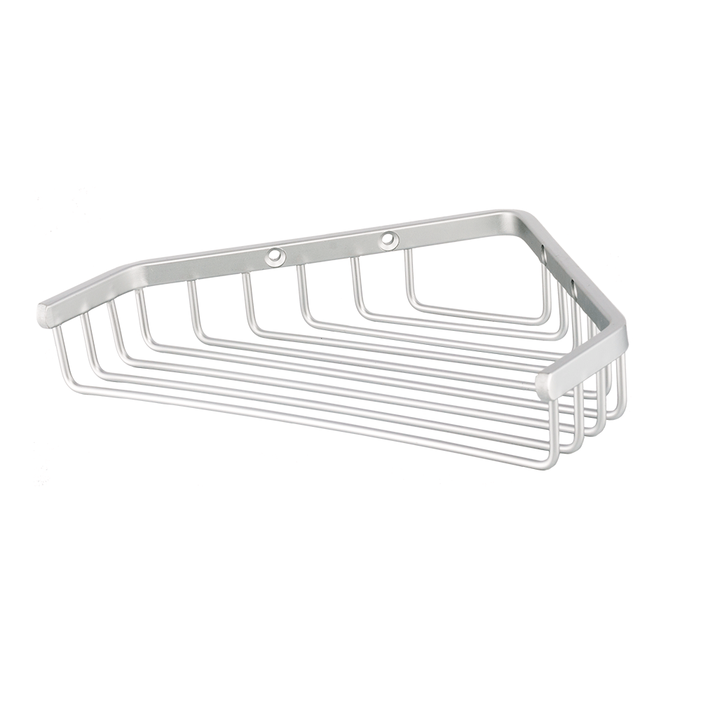 Coltar de baie Romtatay, aluminiu, argintiu, 1 raft, 25.5 x 17.5 x 4 cm mathaus 2021