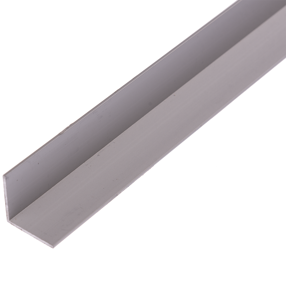 Cornier laturi egale, aluminiu, 20 x 20 x 1,2 mm, L 2m imagine 2021 mathaus