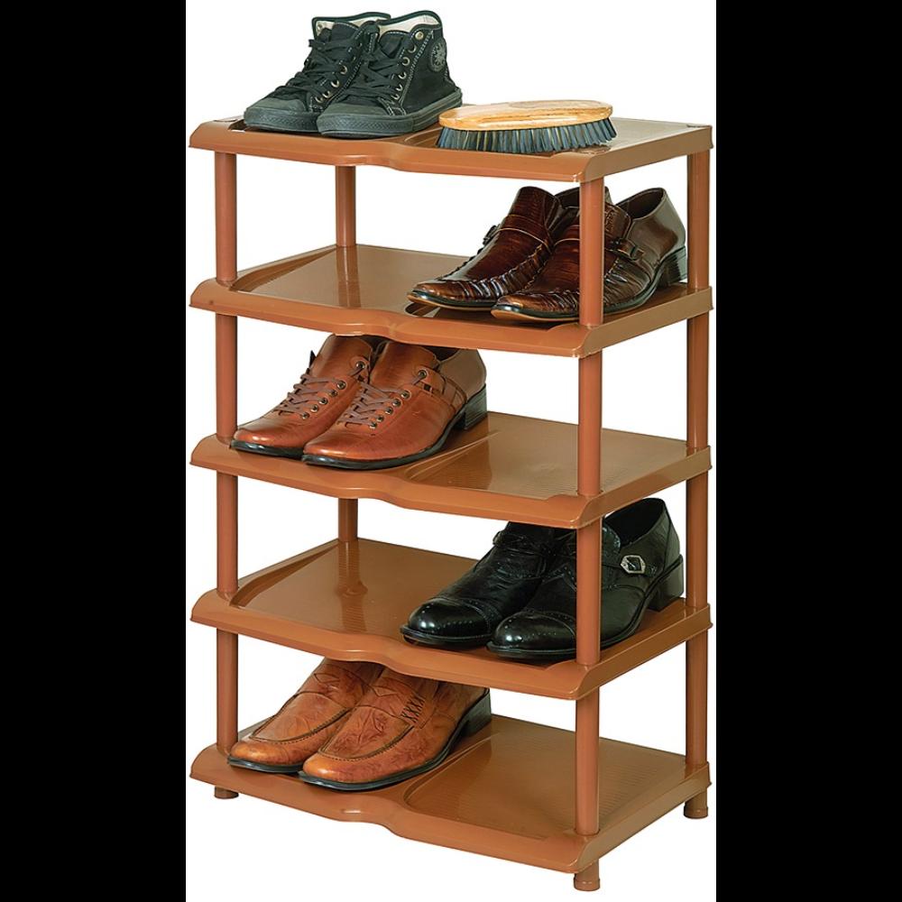 Raft din plastic pentru pantofi, 5 nivele, 79 x 48 x 31 cm mathaus 2021