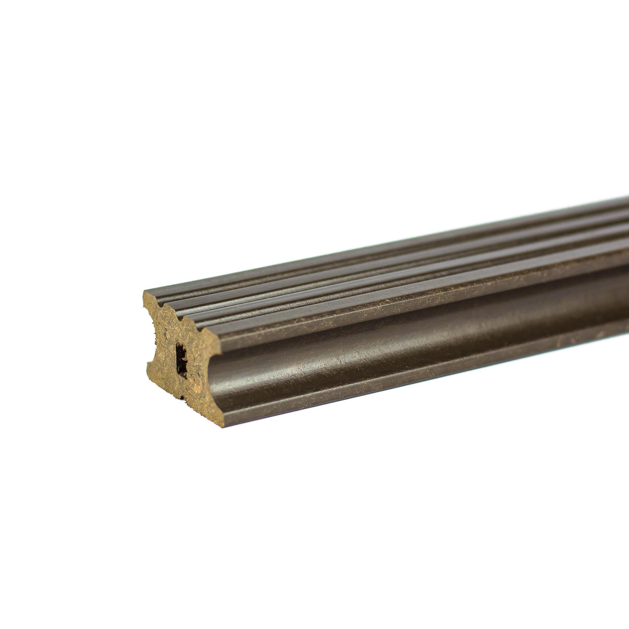Sina suport WPC Bencomp, wenge, 40 x 22 x 2000 mm