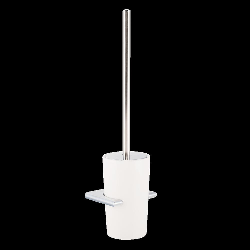 Perie WC de perete Romtatay Ronda, ceramica, alb, 13 cm imagine 2021 mathaus