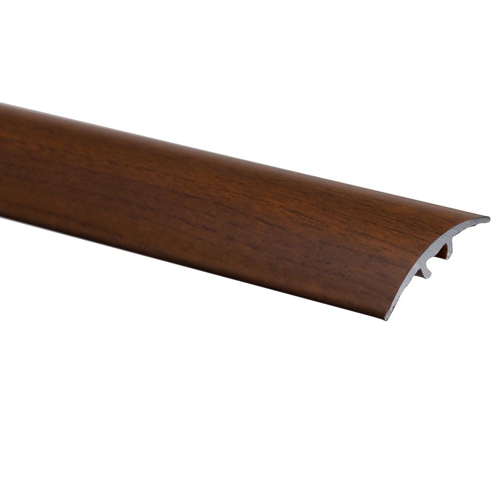 Profil de trecere cu surub mascat S66, fara diferenta de nivel, Effector, nuc, 2,7 m imagine 2021 mathaus