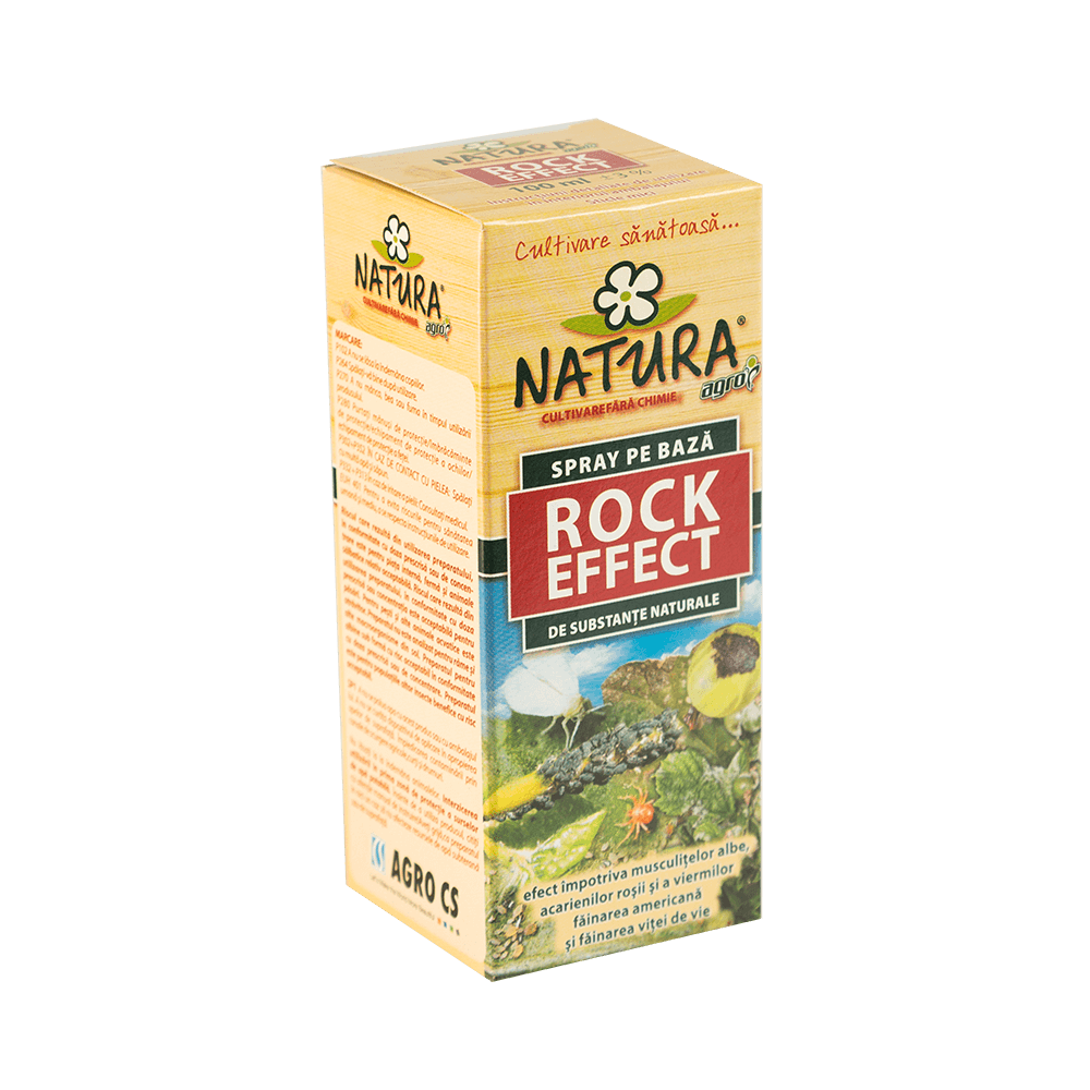 Solutie pentru plante Natura Rock efect, impotriva insectelor, 100 ml