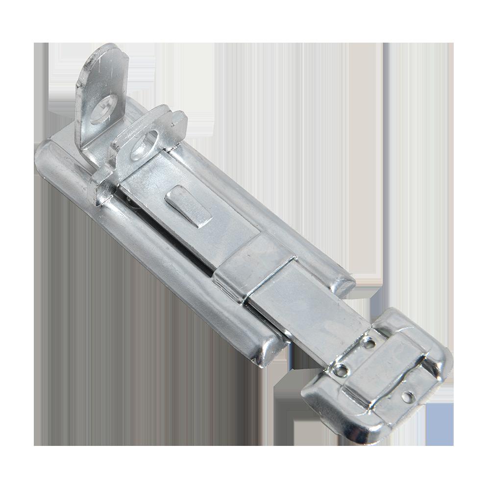 Zavor aplicat pentru usi, prindere cu lacat, otel zincat, L: 100 mm