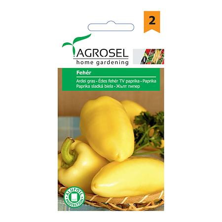 Seminte de ardei gras, Agrosel Feher