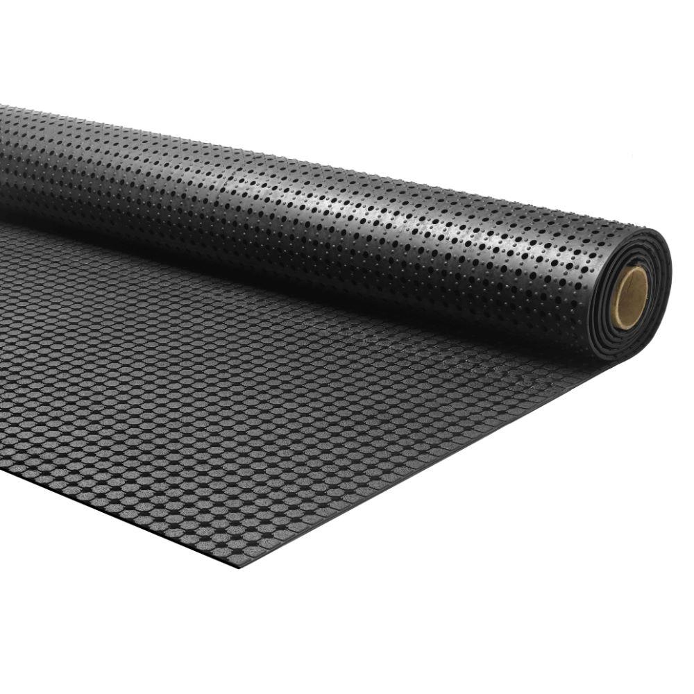 Covor 100% cauciuc Forte 352, negru, grosime 1 cm, latime 90 cm mathaus 2021
