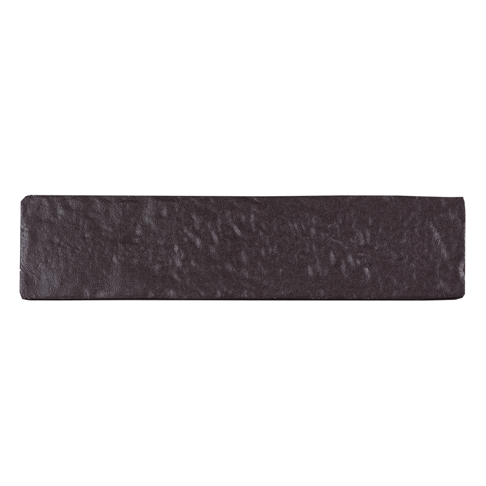 Placa portelanata Strand PEI 3, maro, finisaj mat, aspect de piatra, dreptunghiulara, grosime 10 mm, 2.5 x 6 cm mathaus 2021