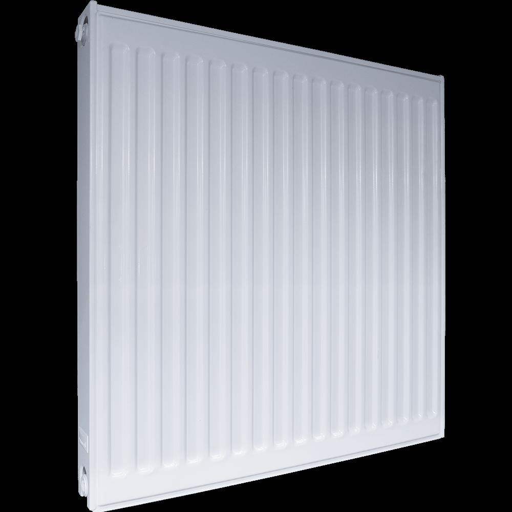 Calorifer otel Purmo C11, 600 x 600 mm, alb, accesorii incluse imagine MatHaus.ro