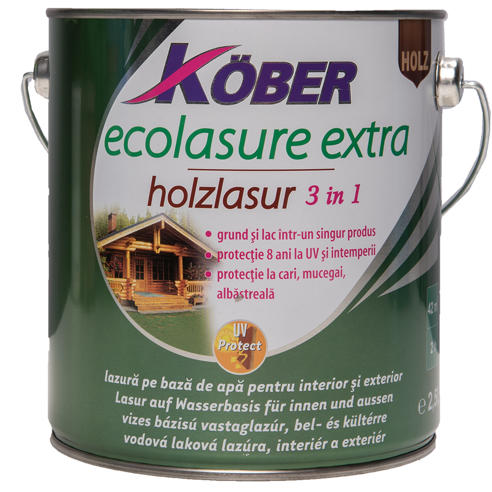 Email Ecolasure Extra wenge 2,5 L