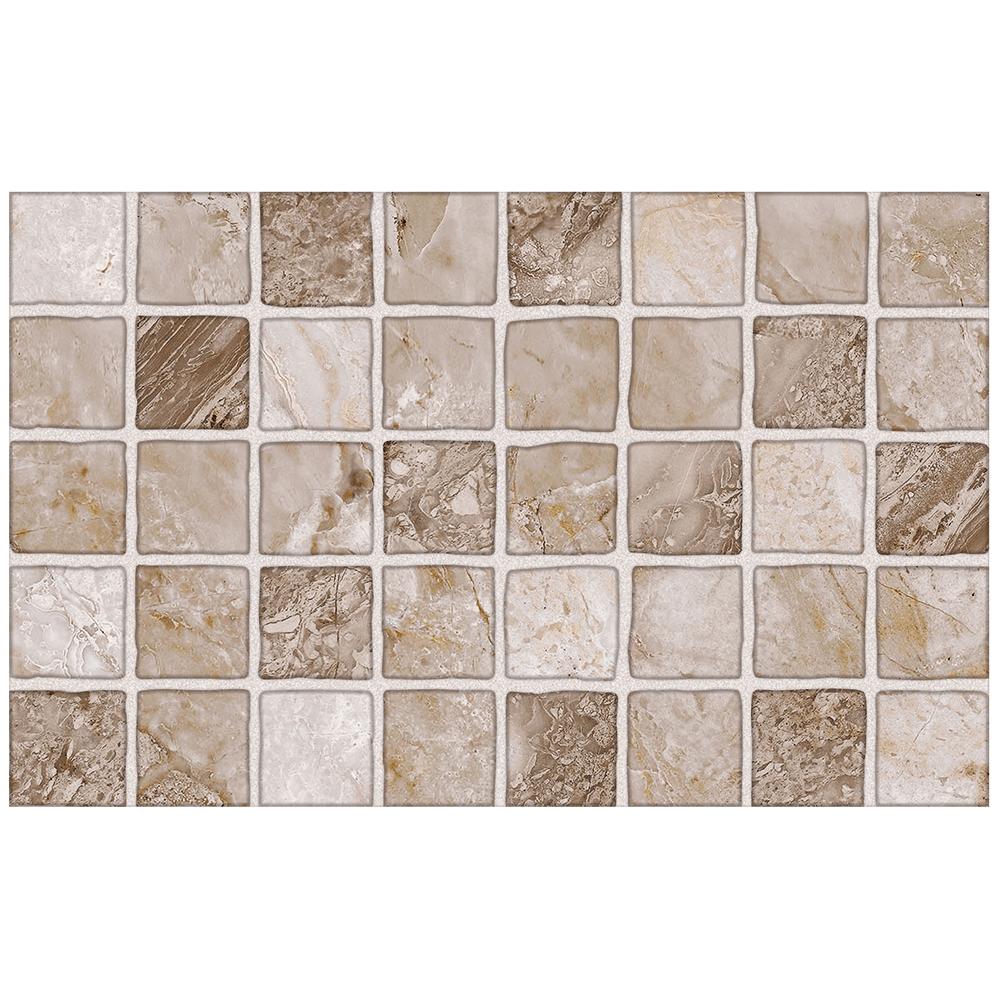 Faianta Sanex Marble, 25 x 40 x 0,65 cm, bej mozaic
