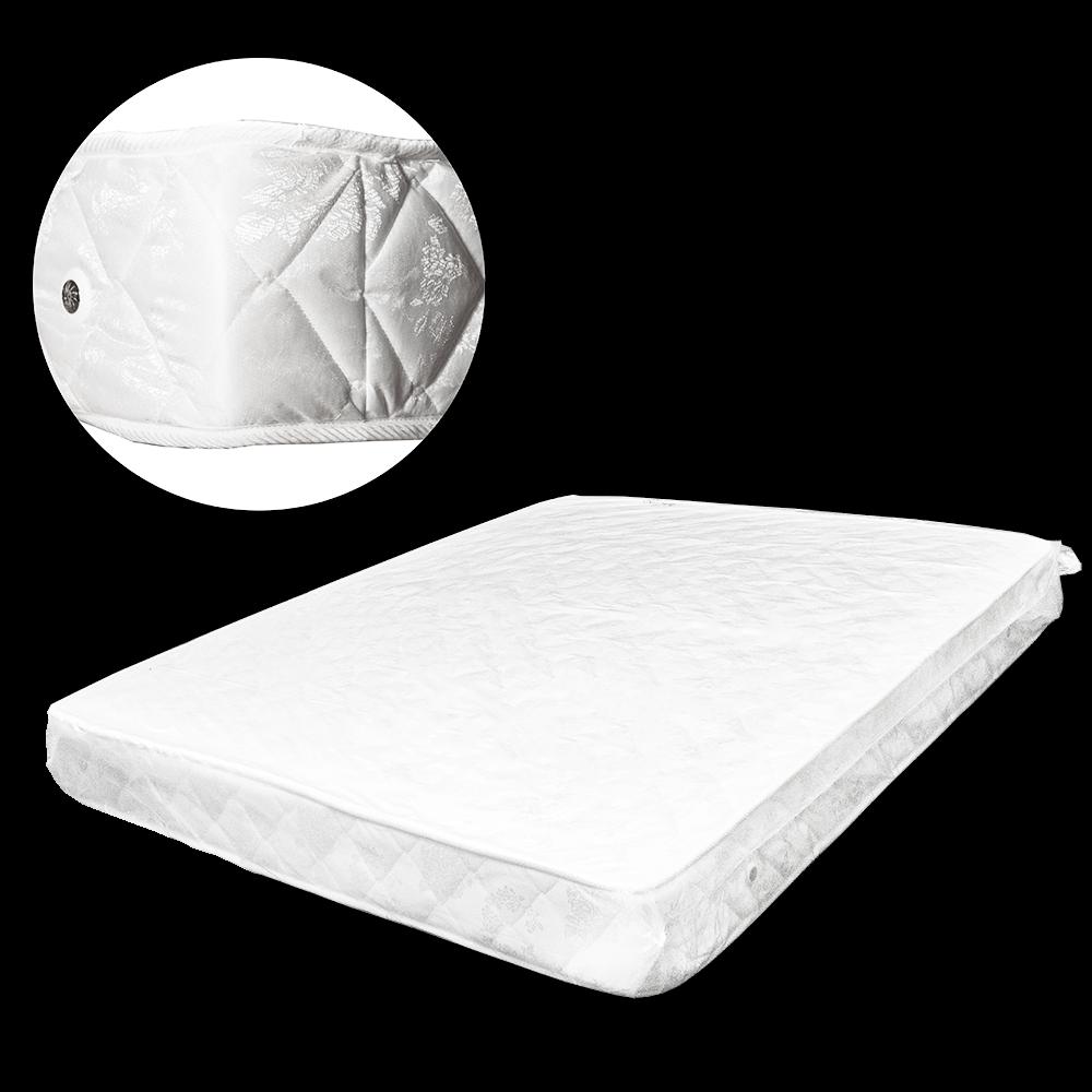 Saltea ortopedica Premium Nico Mob, arcuri Bonell, material Jakart, alb, 200 x 22 x 140 cm