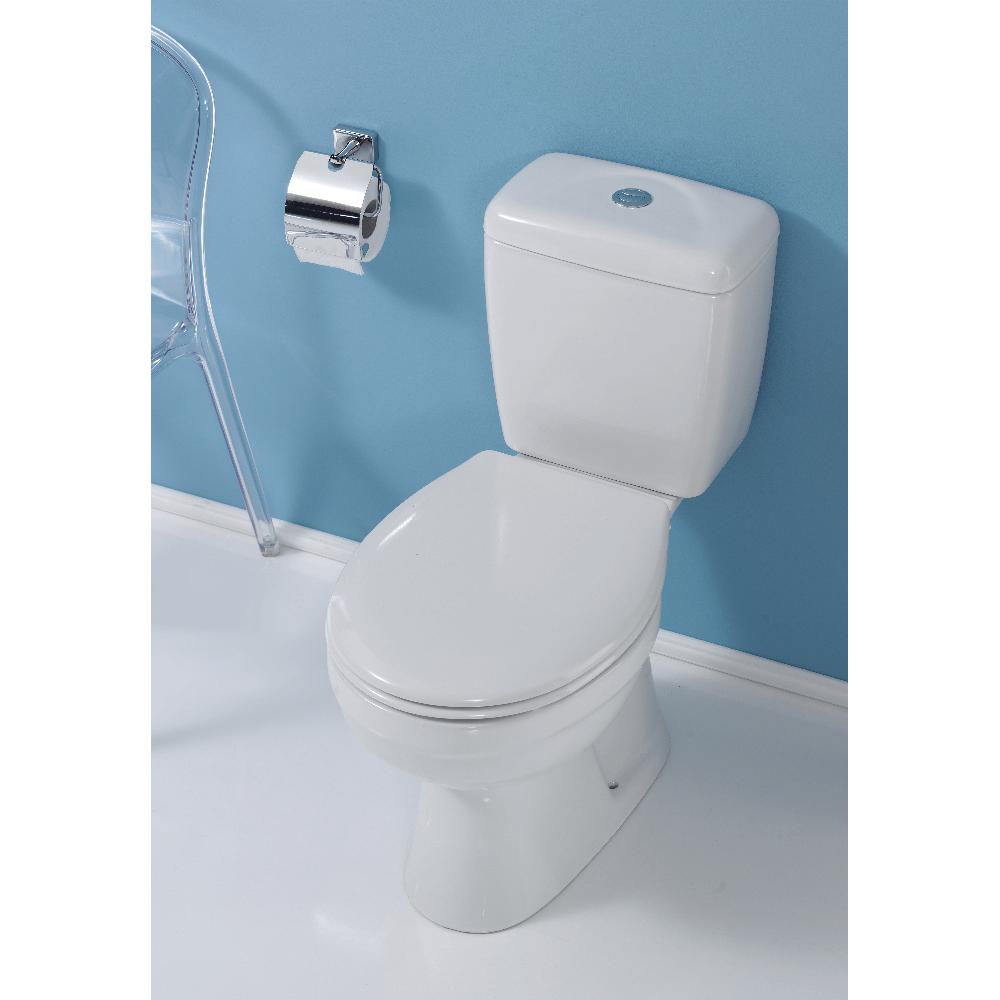 Set WC Menuet Ova, alb, 690 x 365 x 750mm imagine 2021 mathaus