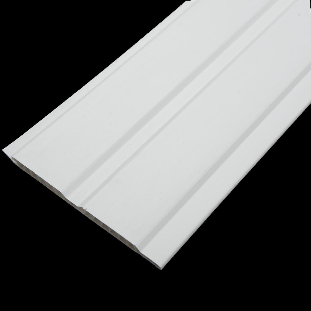 Lambriu PVC, Heloplast, alb, 3000 x 125 x 8 mm