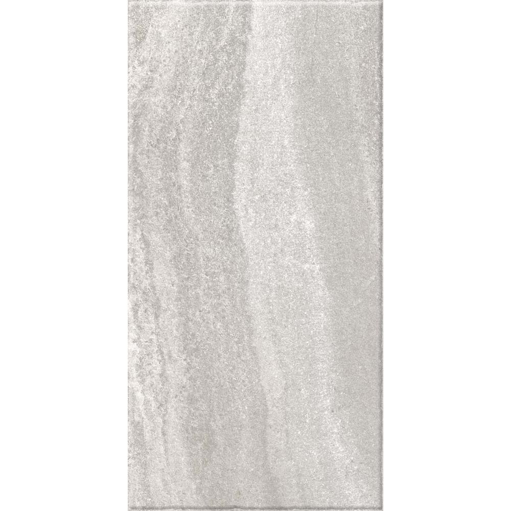 Gresie portelanata Kai Ceramics Santana gri, dreptunghiulara, aspect de piatra, 30 x 60 cm mathaus 2021