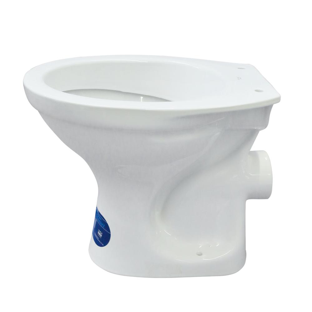 Vas WC Menuet 5100, ceramica, evacuare laterala, alb imagine MatHaus.ro