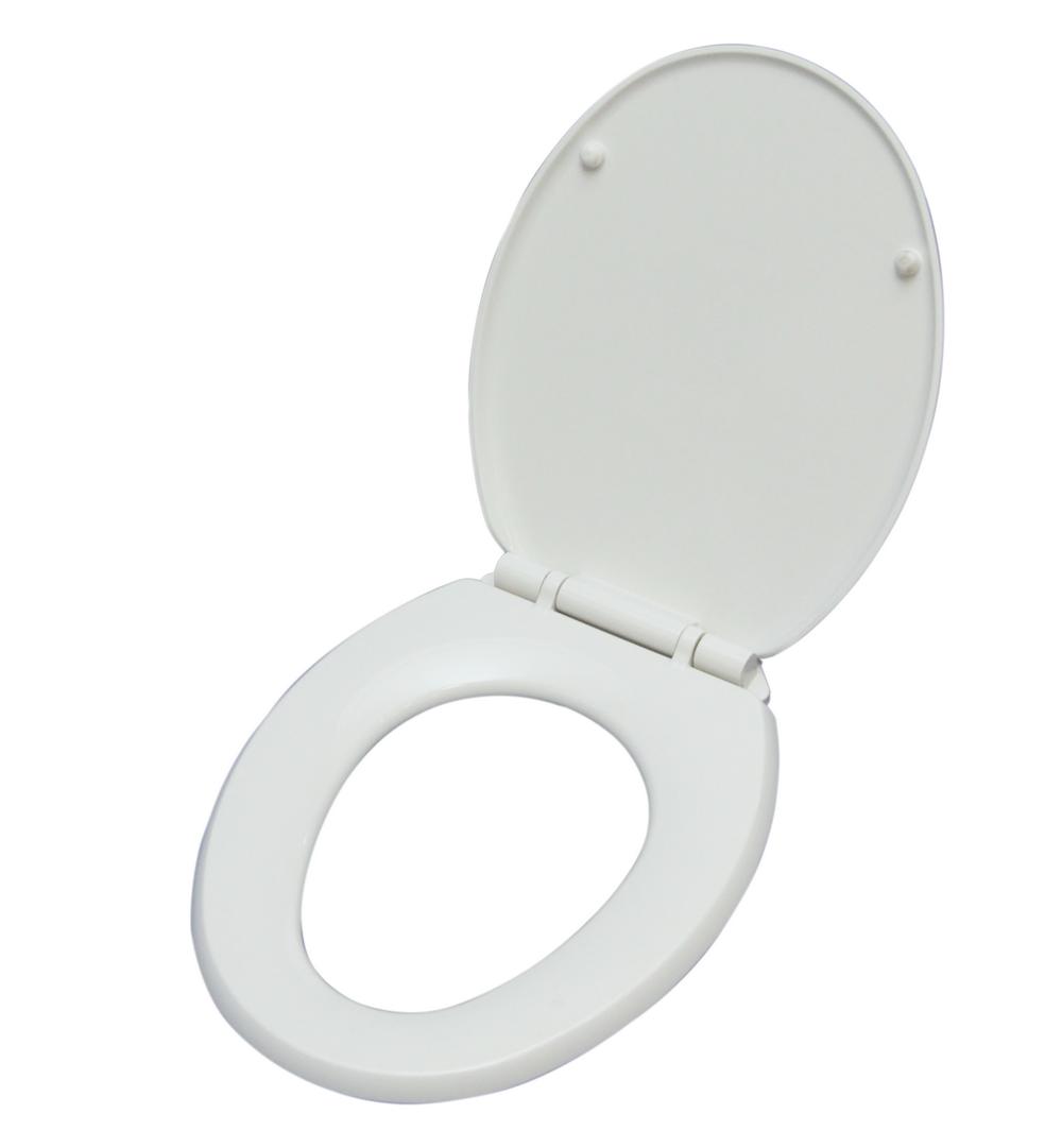Capac WC Wirquin,  Soft Close, polipropilena, alb, 36.5 x 42.5 cm