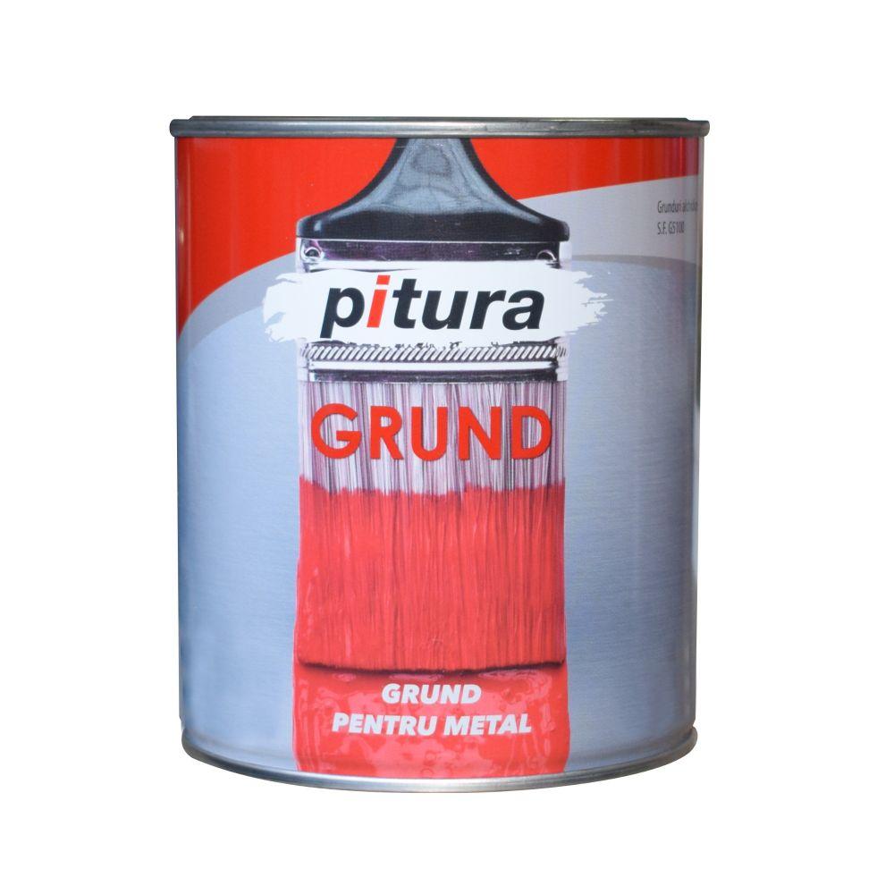 Grund Pitura rosu oxid 4 L
