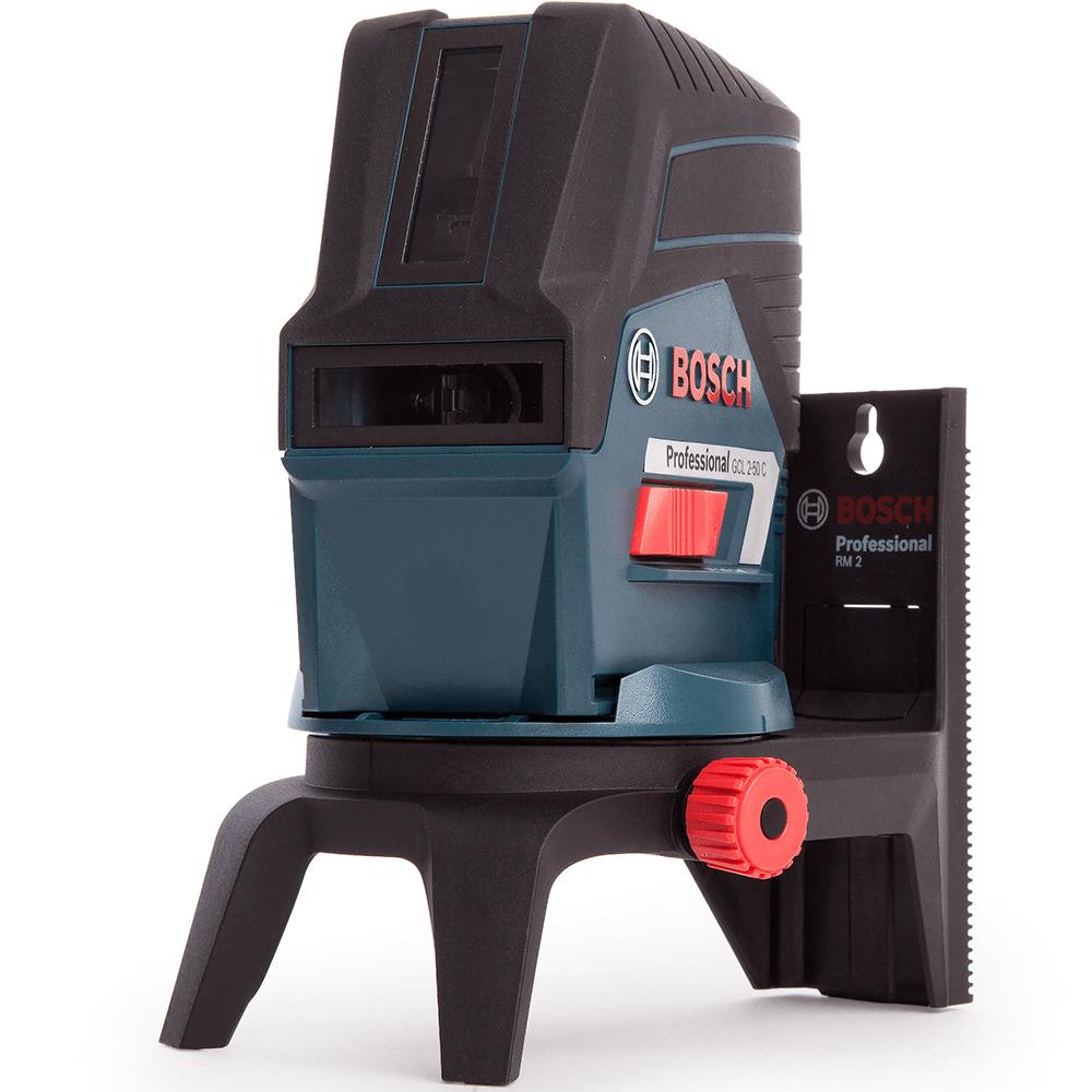 Nivela cu laser si linii Bosch Professional GLL 2-50, 20 m, autonivelare, stativ