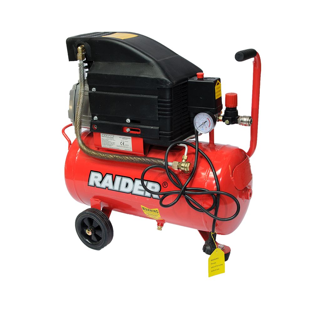 Compresor Raider 102103, 1500 W, 8 bar, 24 l imagine 2021 mathaus