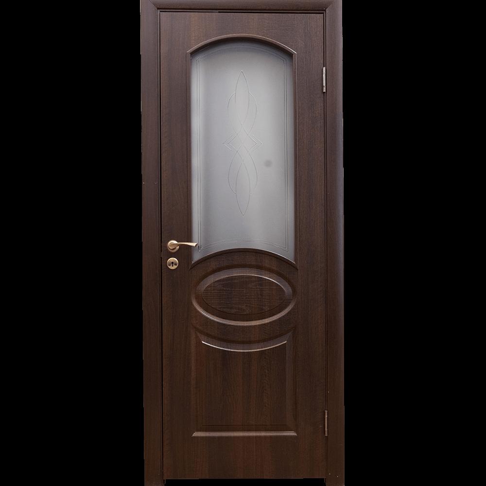 Usa de interior reversibila Fortis Ovals, castan, 200 x 80 x 3,4 cm imagine 2021 mathaus