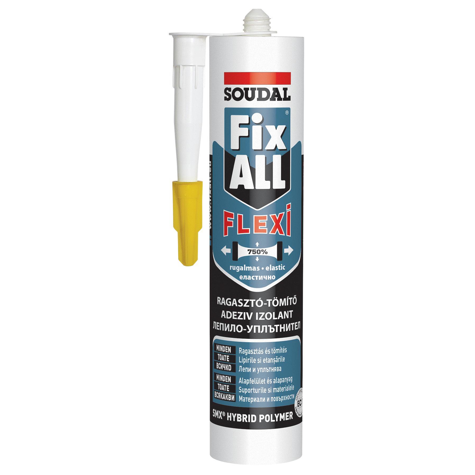 Adeziv Soudal Fix All Flexi, Gri, 290 ml imagine MatHaus