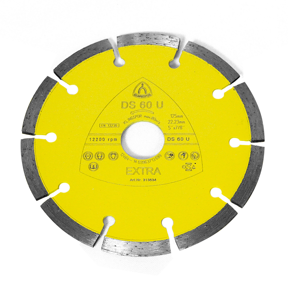 Disc Diamantat Beton Klingspor 313634 125 X 22,23 mm mathaus 2021