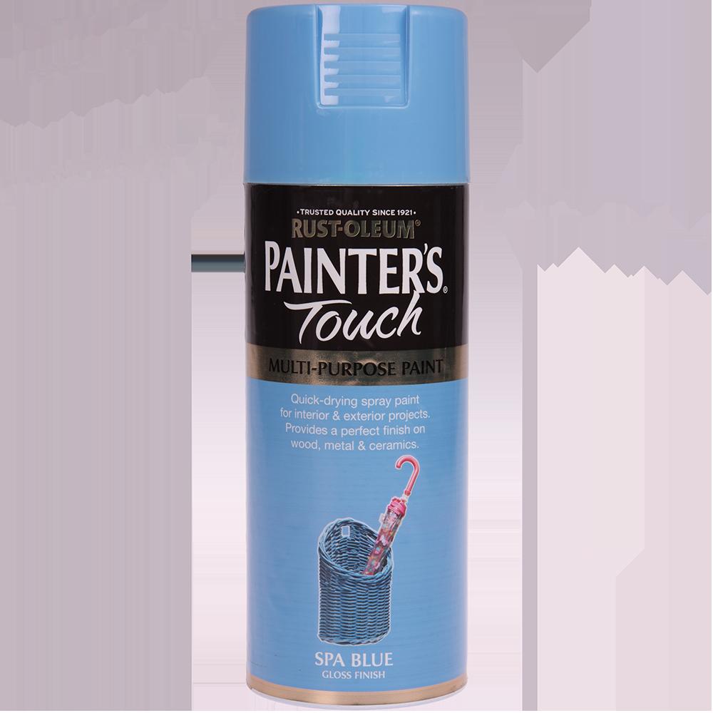 Spray Rust-Oleum Painter`s Touchs, lucios, albastru spa, 400 ml imagine MatHaus