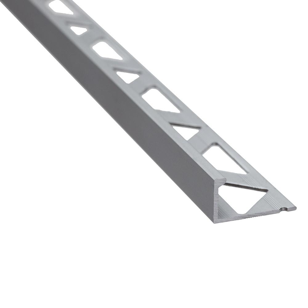 Profil de terminatie pentru parchet Set Prod S51 aluminiu, argintiu, 10 mm imagine 2021 mathaus