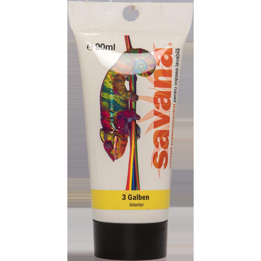 Colorant Savana T03 galben int 90 ml imagine MatHaus.ro