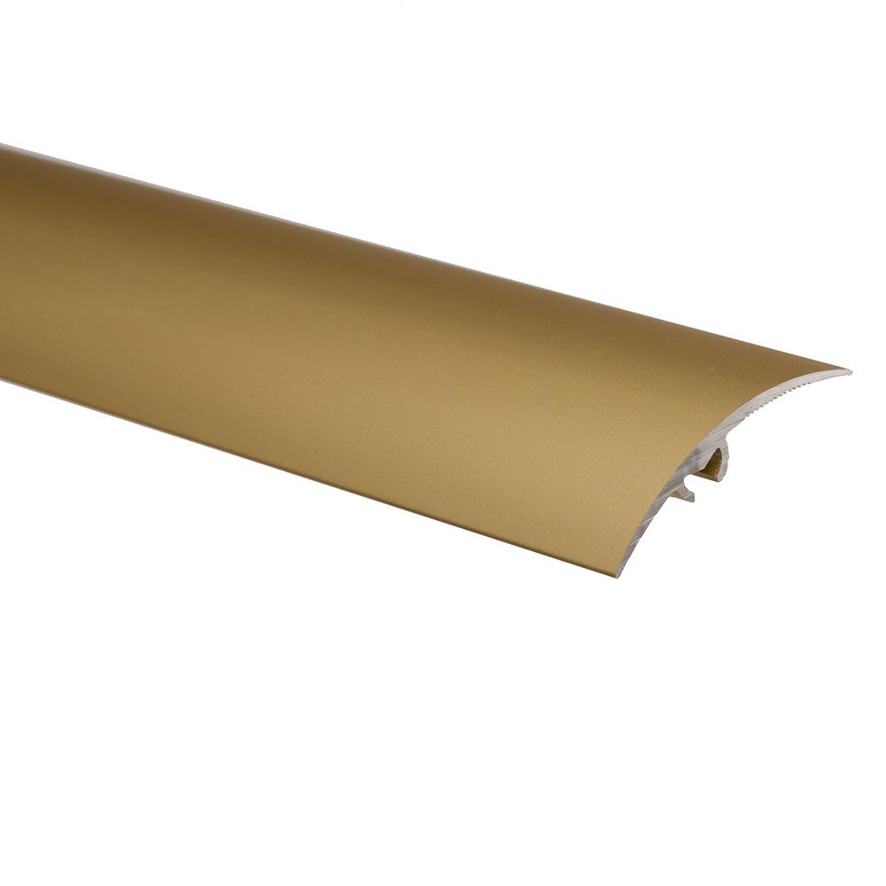 Profil de trecere cu surub mascat, cu diferenta de nivel S65 Effector auriu, 0,93 m imagine 2021 mathaus