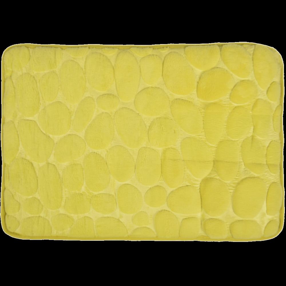 Covoras de baie, microfibra 100%, verde, 40 x 60 cm