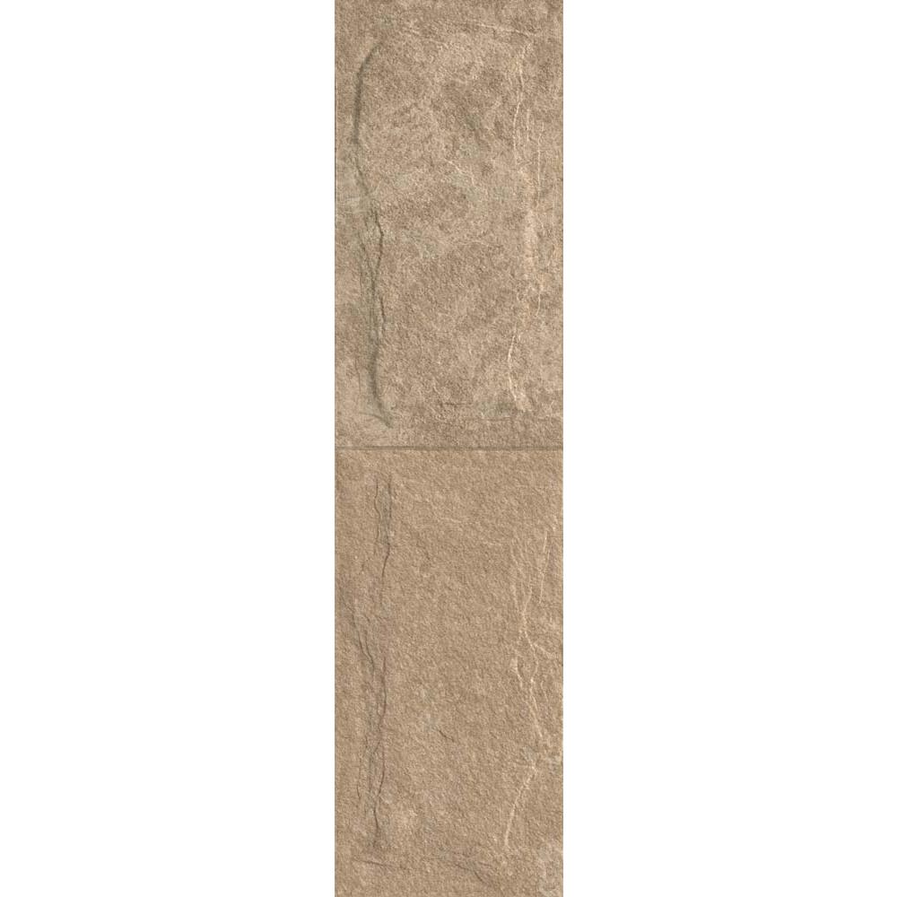 Gresie portelanata interior-exterior Kai Ceramics Samos, bej, aspect de piatra, finisaj rustic, 15,5 x 60,5 cm mathaus 2021