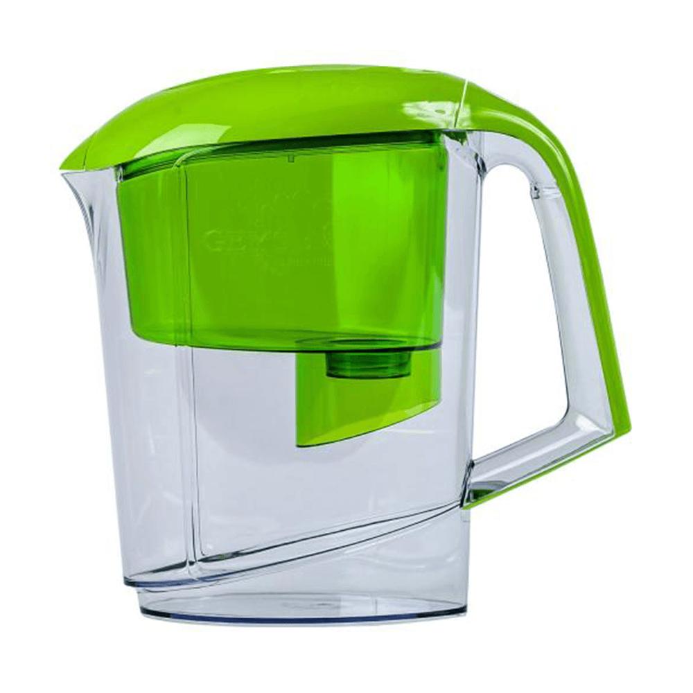 Cana filtranta Geyser Vega, plastic, verde, cartus filtrant, 3l mathaus 2021
