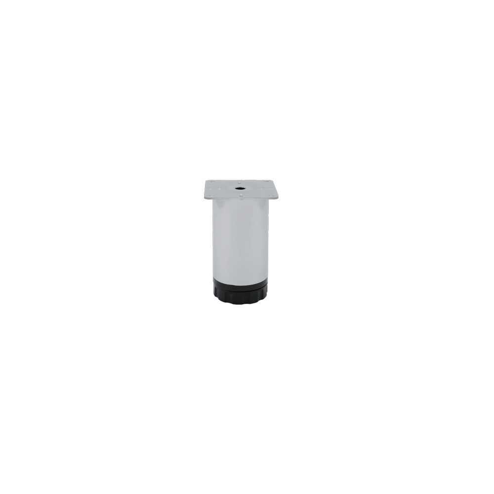 Picior mobila, metalic, baza din plastic reglabila, 60 x 150 mm mathaus 2021