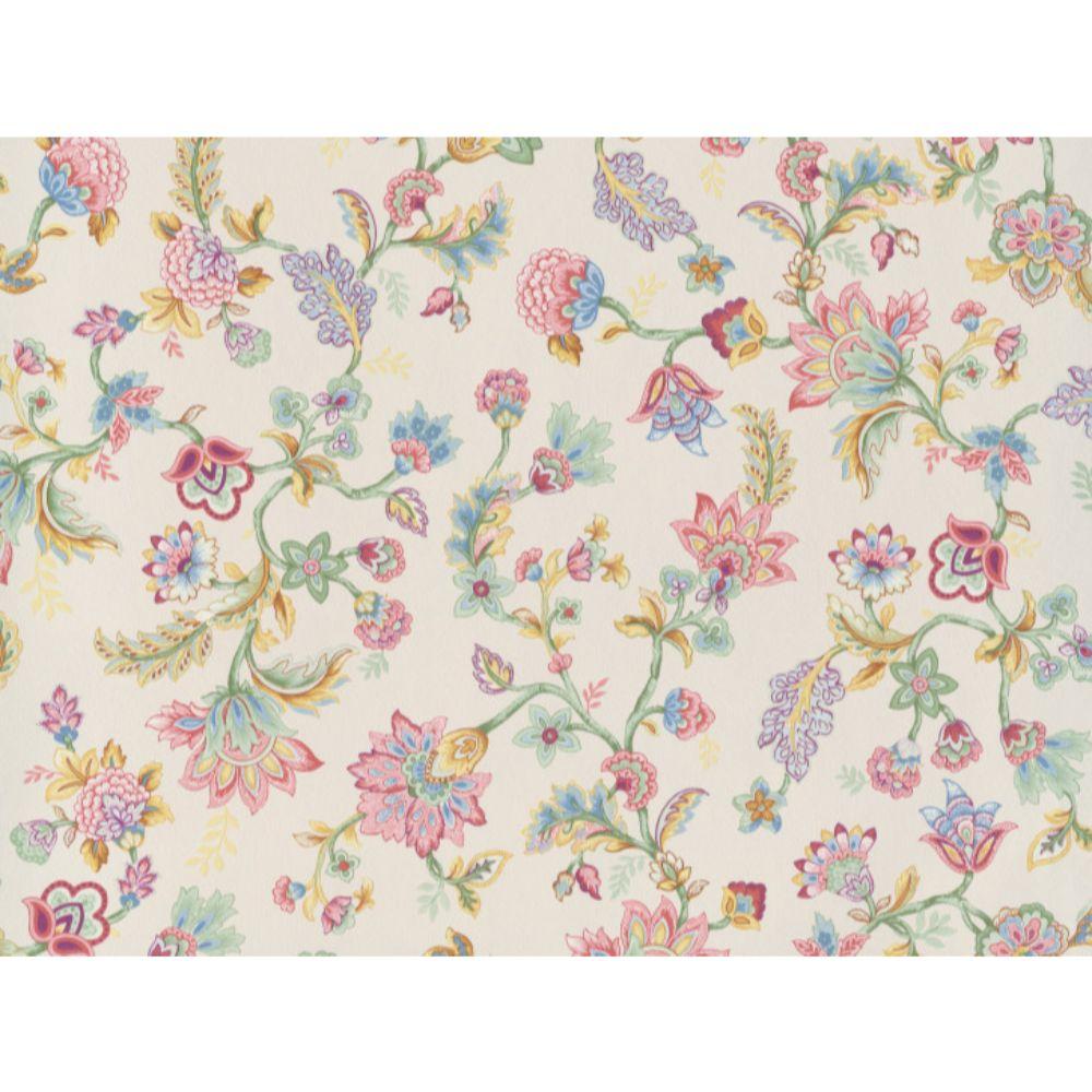 Tapet vinil Fiore 220476, crem, model floral, 10 x 0.53 m
