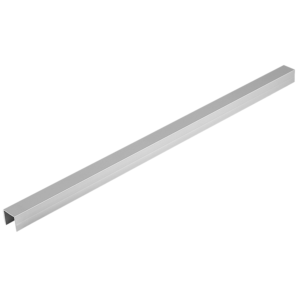 Profil din aluminiu, sectiune U, 2,5 m, anodizat-mat mathaus 2021