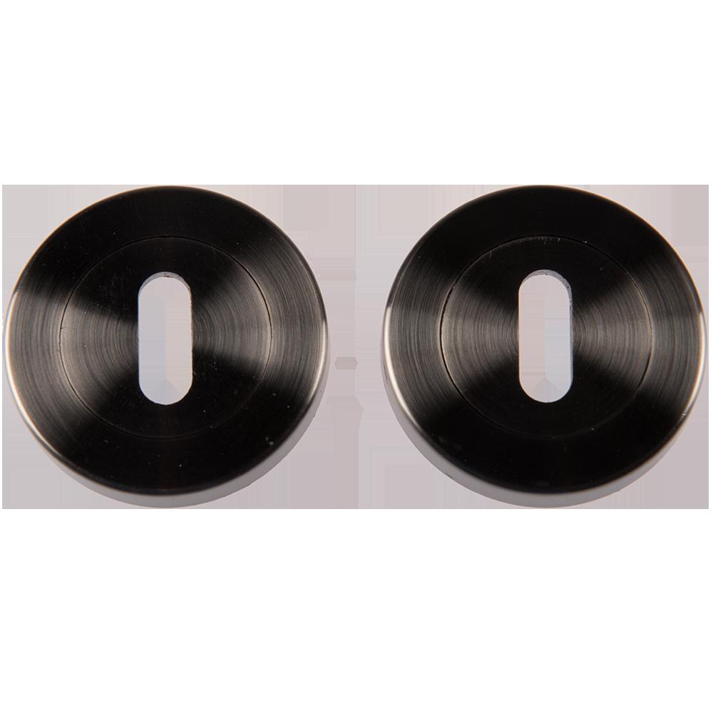 Rozeta pentru cheie, rotunda, nichel satinat, ø 54mm