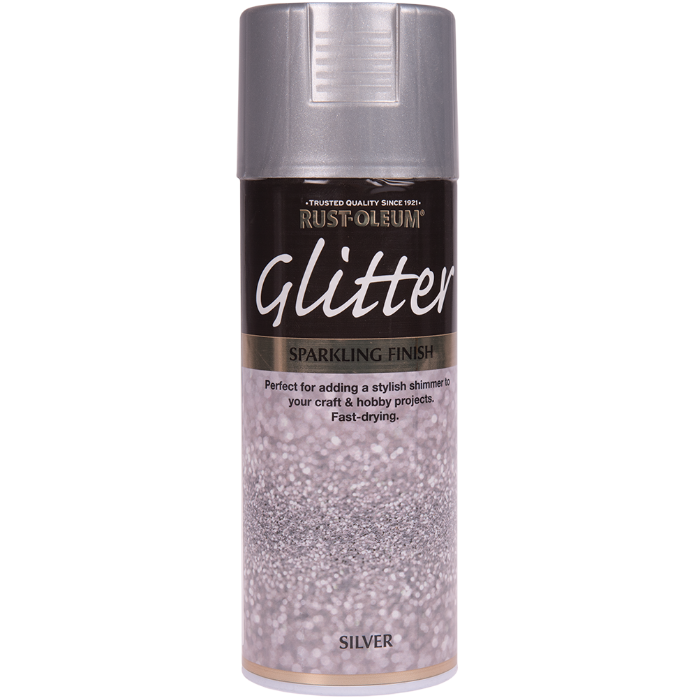Spray Rust-Oleum Glitter, sclipici, argintiu, 400 ml mathaus 2021