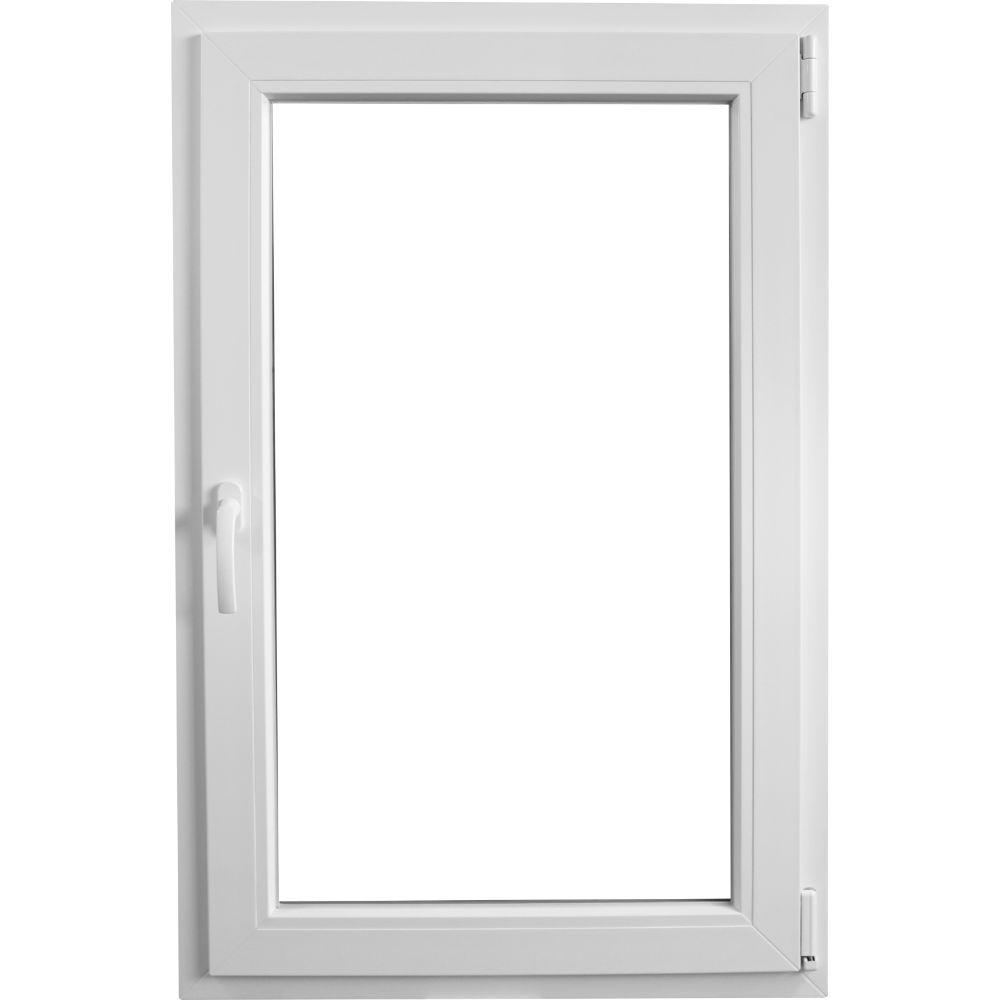 Fereastra PVC, 5 camere, alb, 56 x 116 cm imagine MatHaus.ro