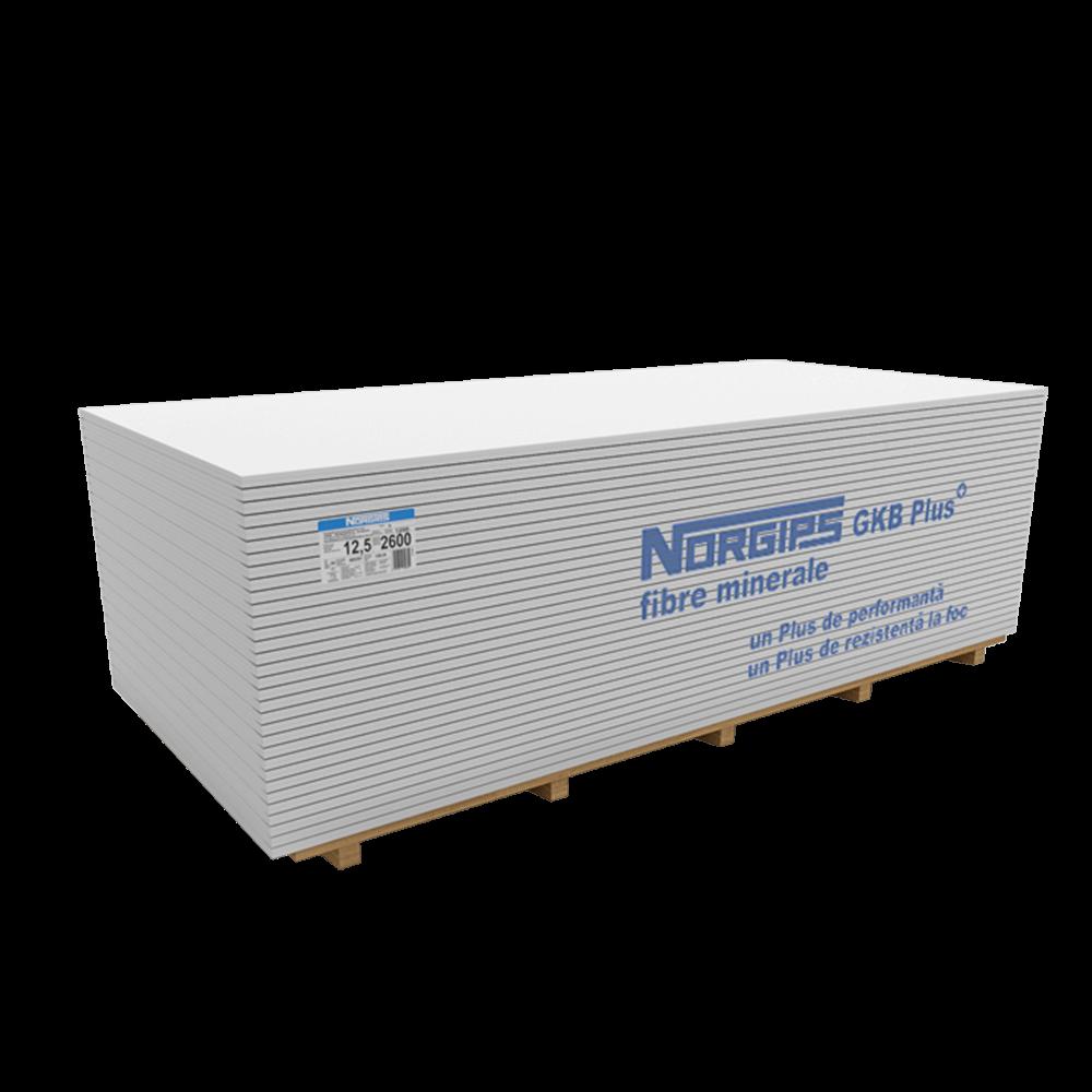 Placa gips-carton GKB Plus, grosime 12.5 mm, 2600 x 1200 mm mathaus 2021