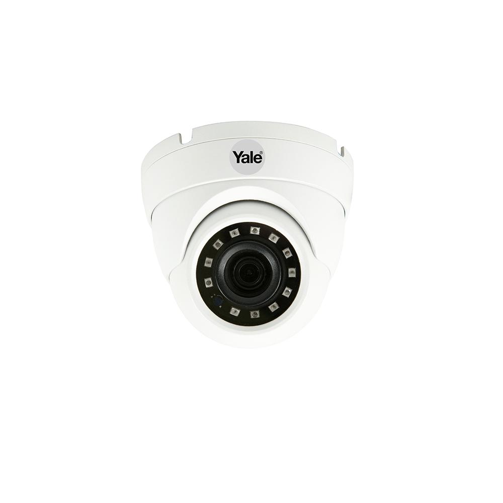 Camera video de supraveghere Yale CCTV Dome, FULL HD 1080P, 60 grade, vedere nocturna