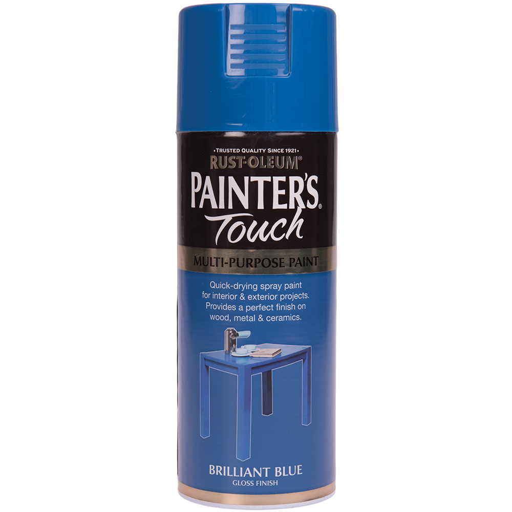 Spray Rust-Oleum Painter`s Touchs, lucios, albastru brill, 400 ml mathaus 2021
