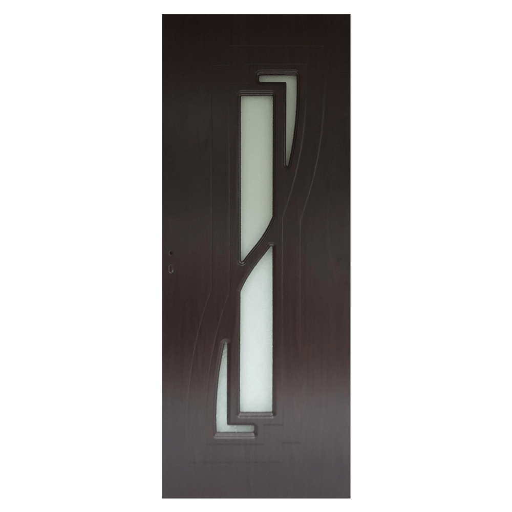 Usa de interior cu geam Pamate M042, wenge, 200 x 80 cm + toc 10 cm imagine MatHaus