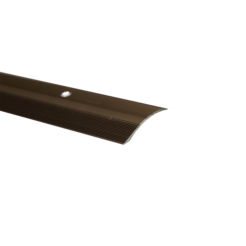 Profil trecere cu diferenta de nivel S05, aluminiu, 900 x 40 x 7 mm, bronz imagine MatHaus